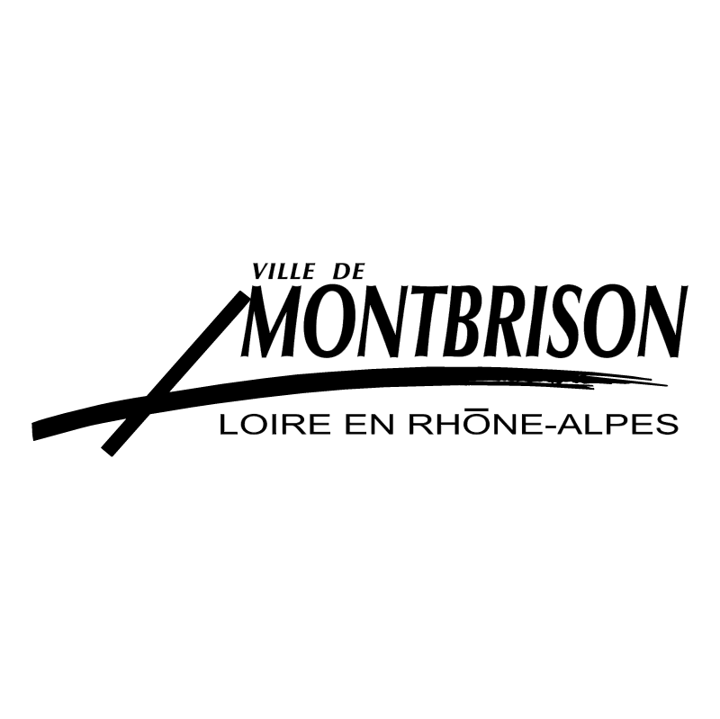 Ville de Montbrison vector