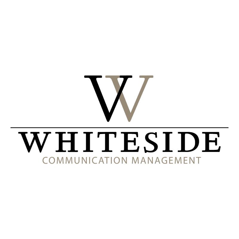 Whiteside Communication Management vector