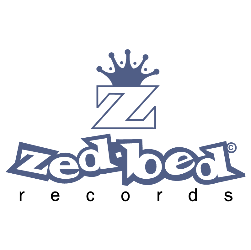 Zed Bed Records vector