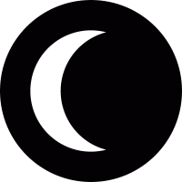 Sun eclipse vector