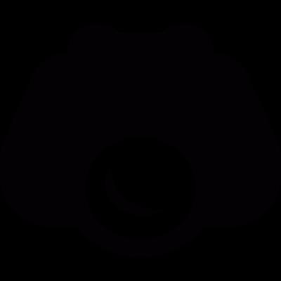 Night vision binoculars vector logo