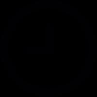 Round Clock vector