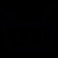 Basket doodle vector
