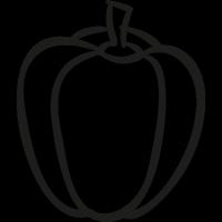 Garden Pepper vector