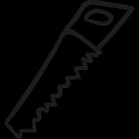 Carpenter Saw vector
