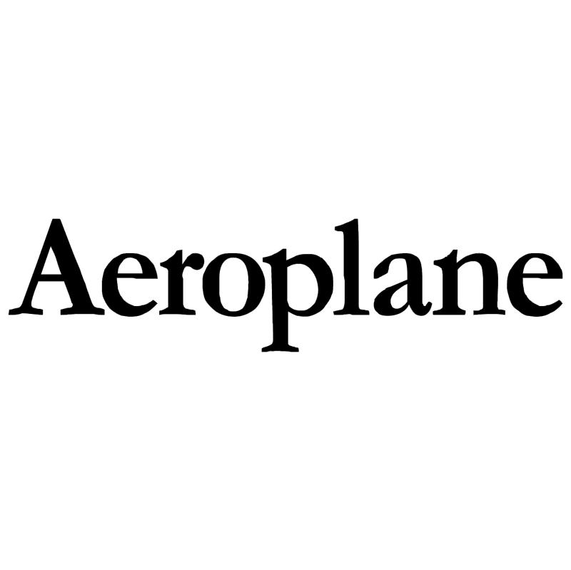 Aeroplane 32734 vector