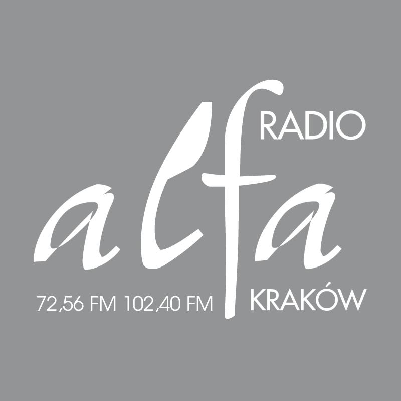 Alfa Radio vector