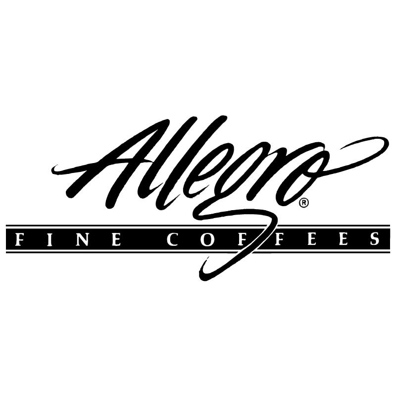 Allegro Fine Coffees vector