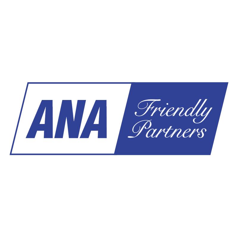 ANA Friendly Partners vector