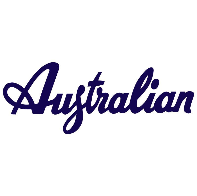Australian vector logo