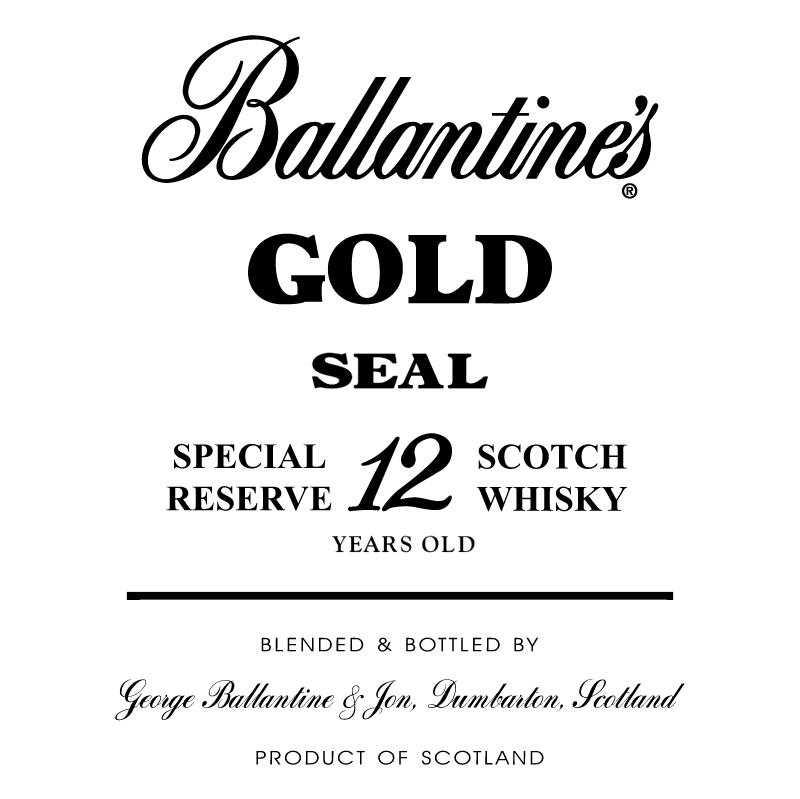 Ballantine's Gold vector