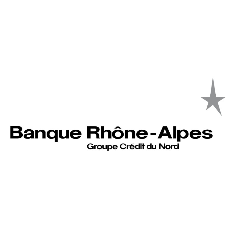 Banque Rhone Alpes vector