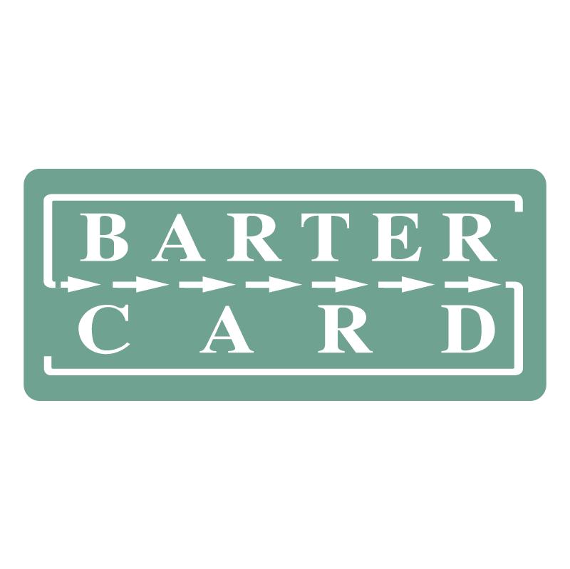 Barter Card vector