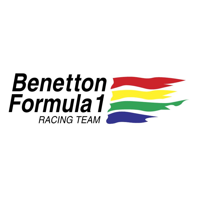 Benetton F1 vector