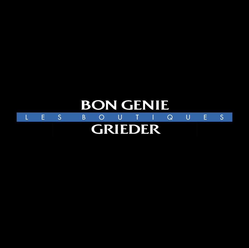 Bon Genie Grieder vector