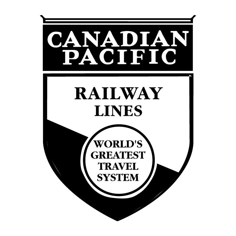 Canadian Pacific Railway vector