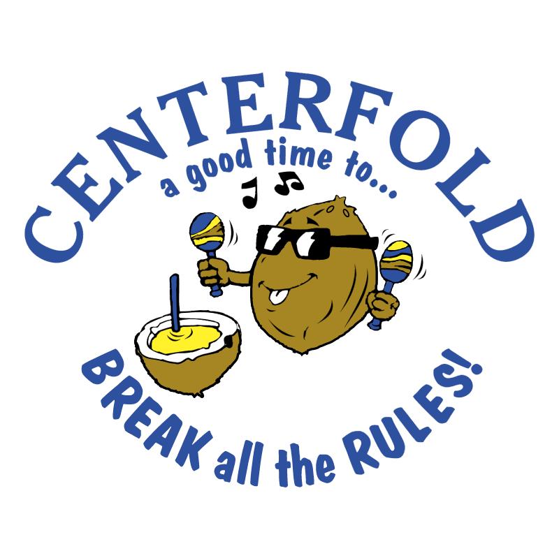 Centerfold vector logo
