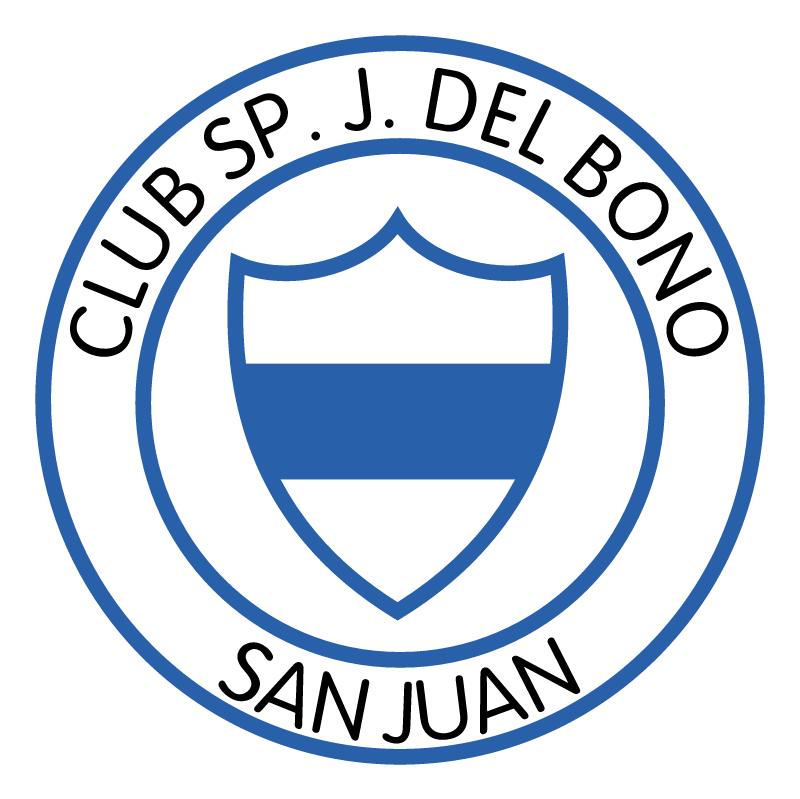 Club Sportivo Juan Bautista Del Bono de San Juan vector