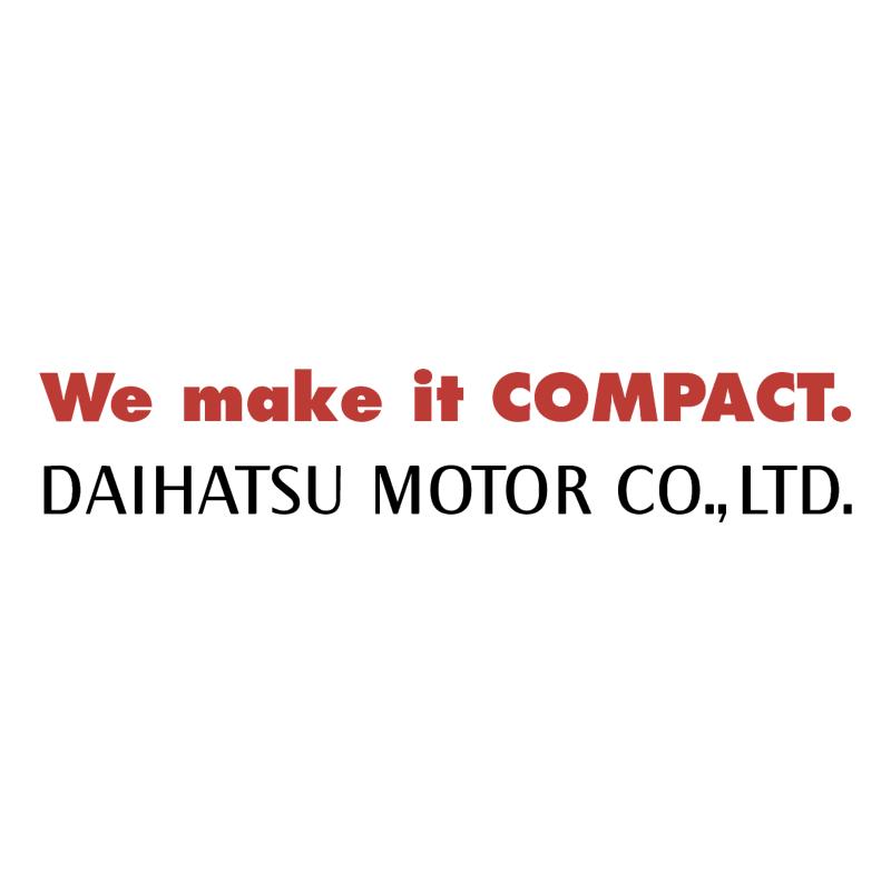 Daihatsu Motor vector