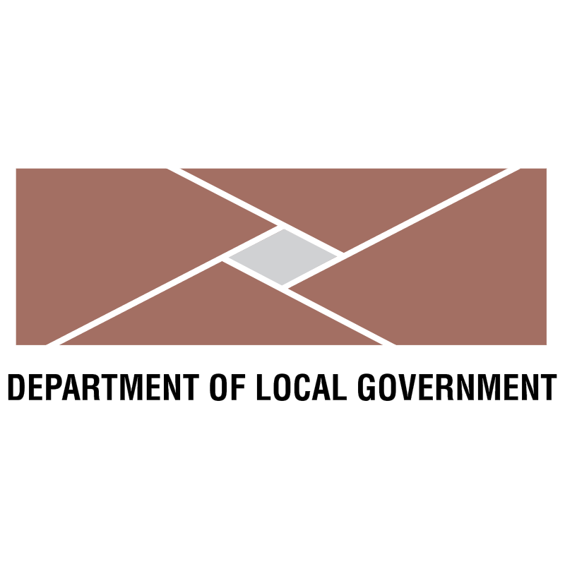 Department Of Local Goverment vector