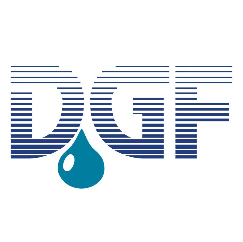 DGF vector logo