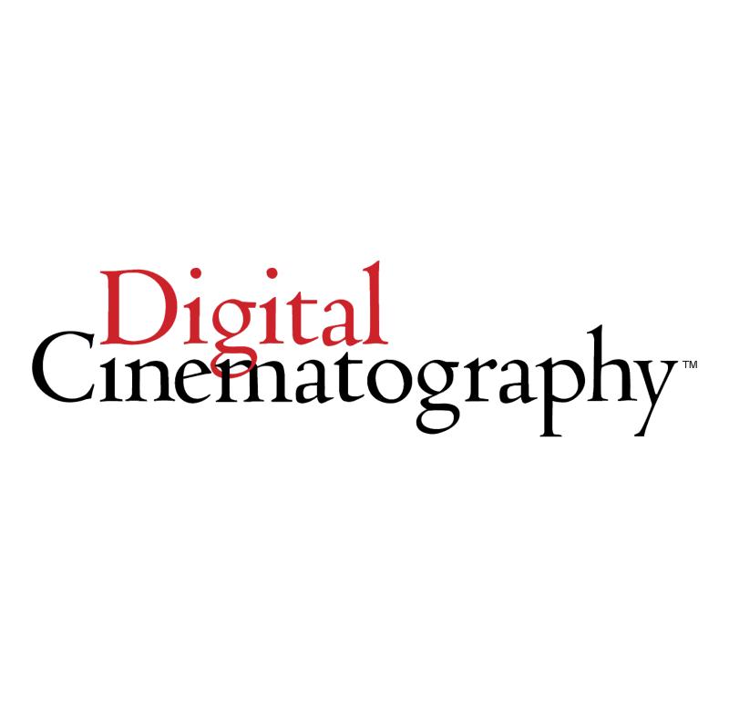 Digital Cinematography vector logo