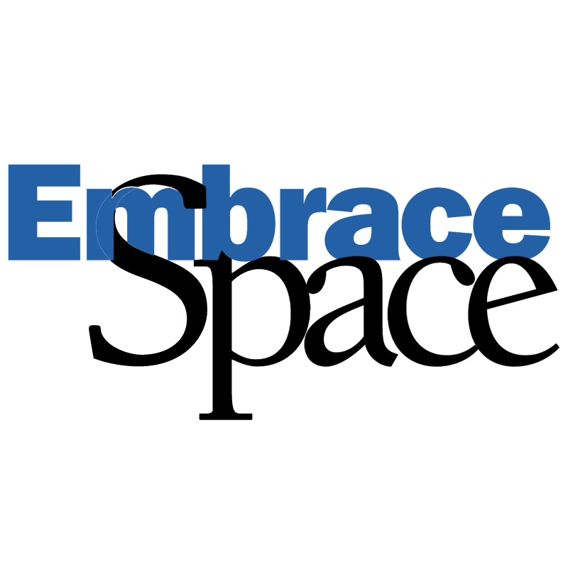 Embrace Space vector logo