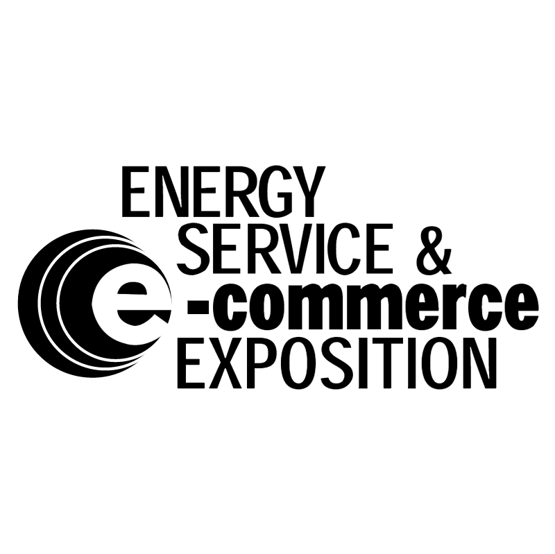 Energy Services & e commerce exposition vector