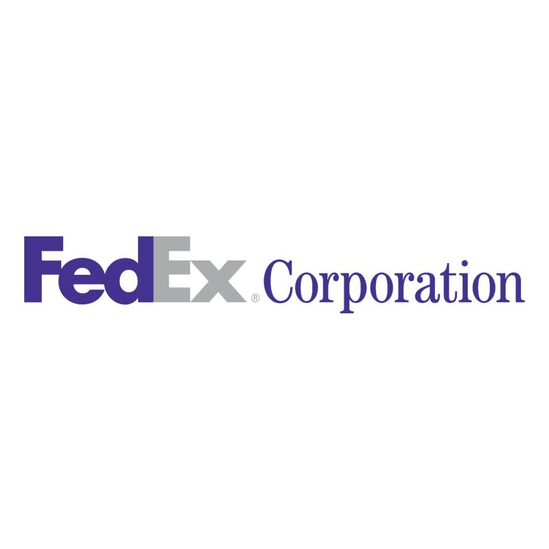 FedEx Corporation vector logo