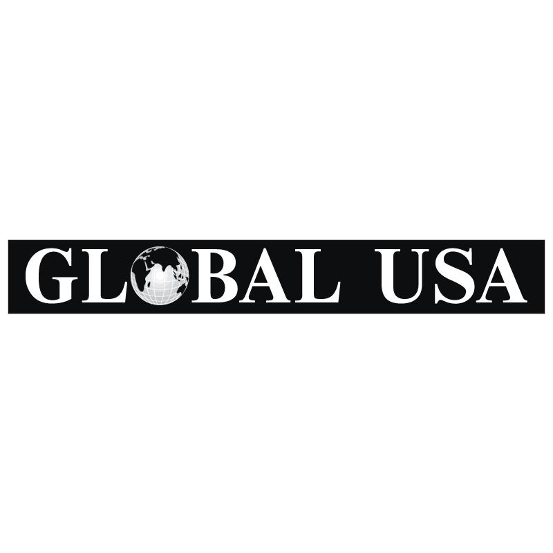 Global USA vector logo
