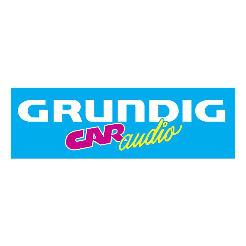 Grundig Car Audio vector