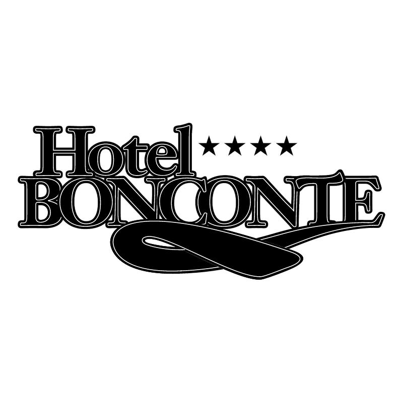 Hotel Bonconte vector logo