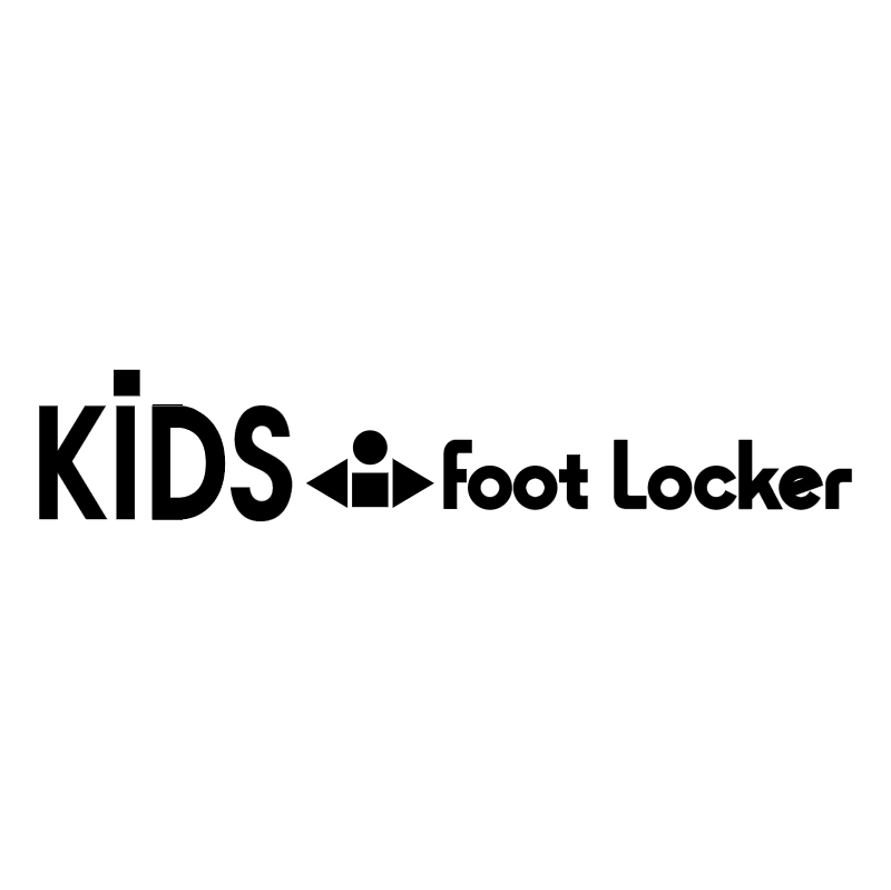 Kids Foot Locker vector