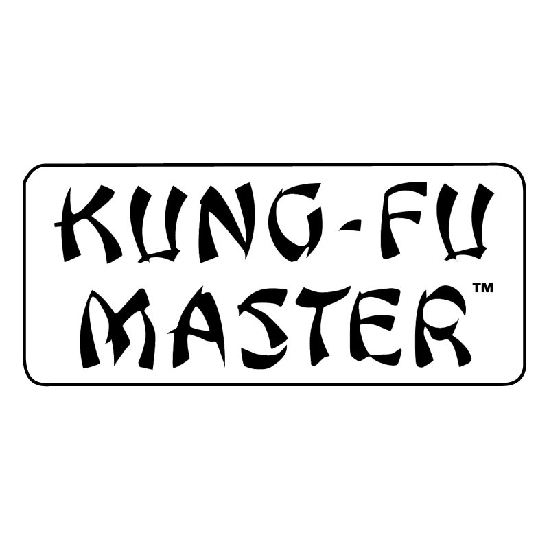 Kung Fu Master vector logo