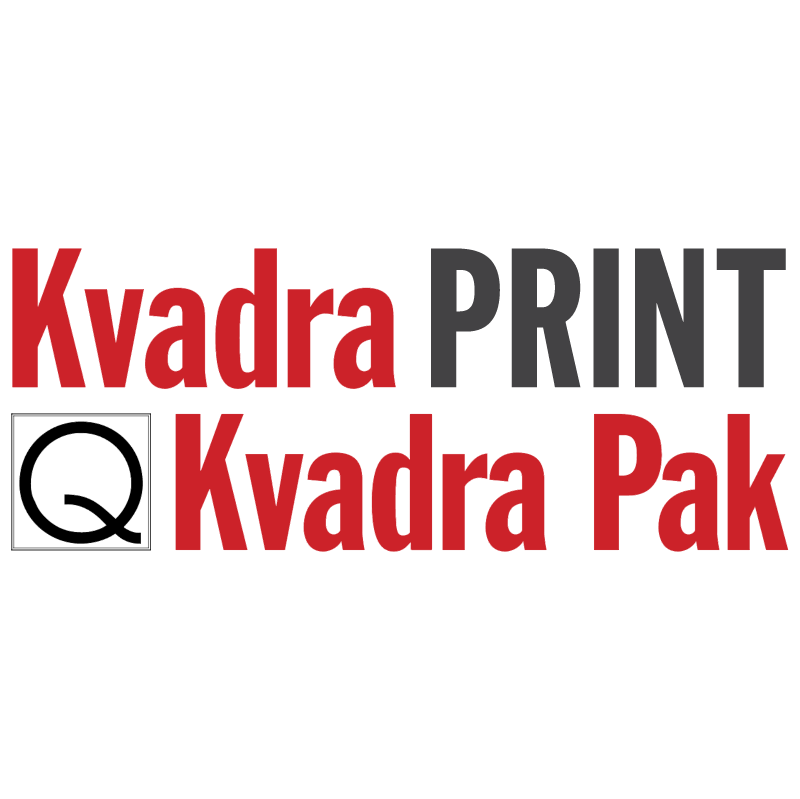 Kvadra Print Kvadra Pak vector