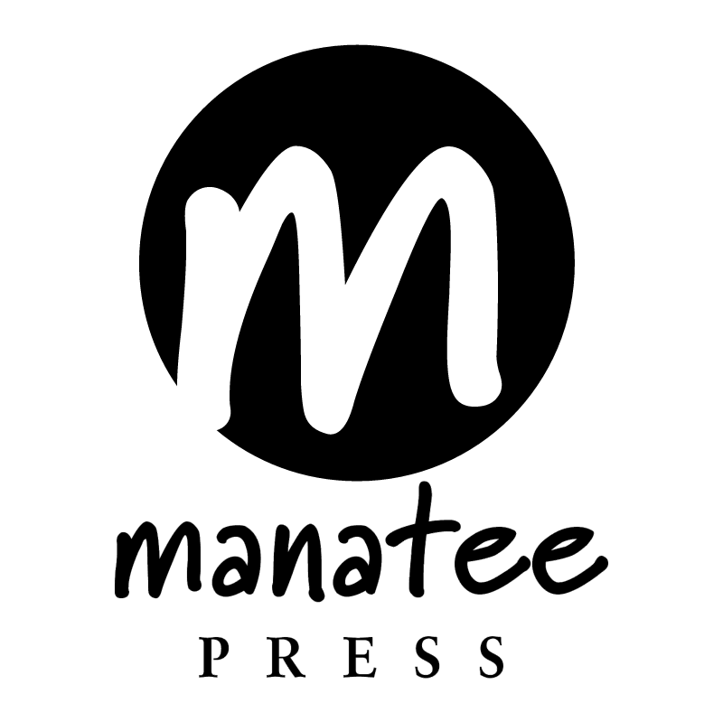 Manatee press vector