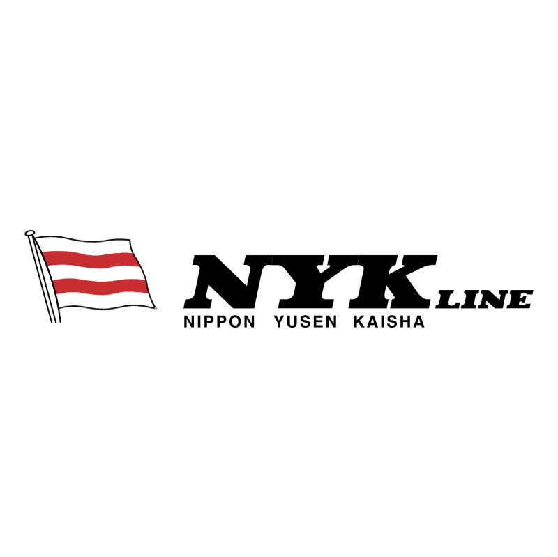 NYK Line vector
