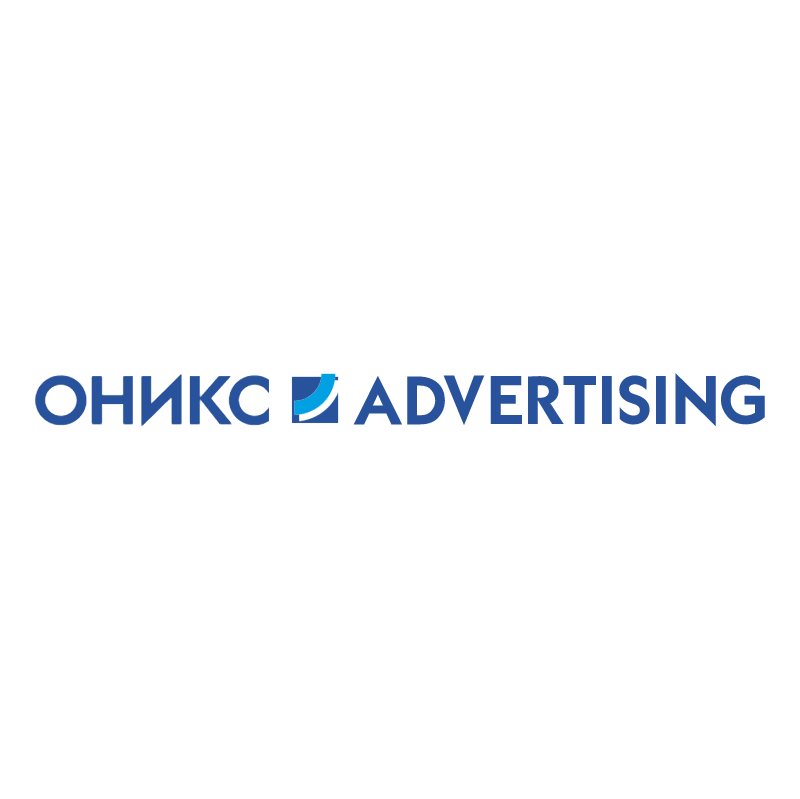 Onyx Advertising vector logo