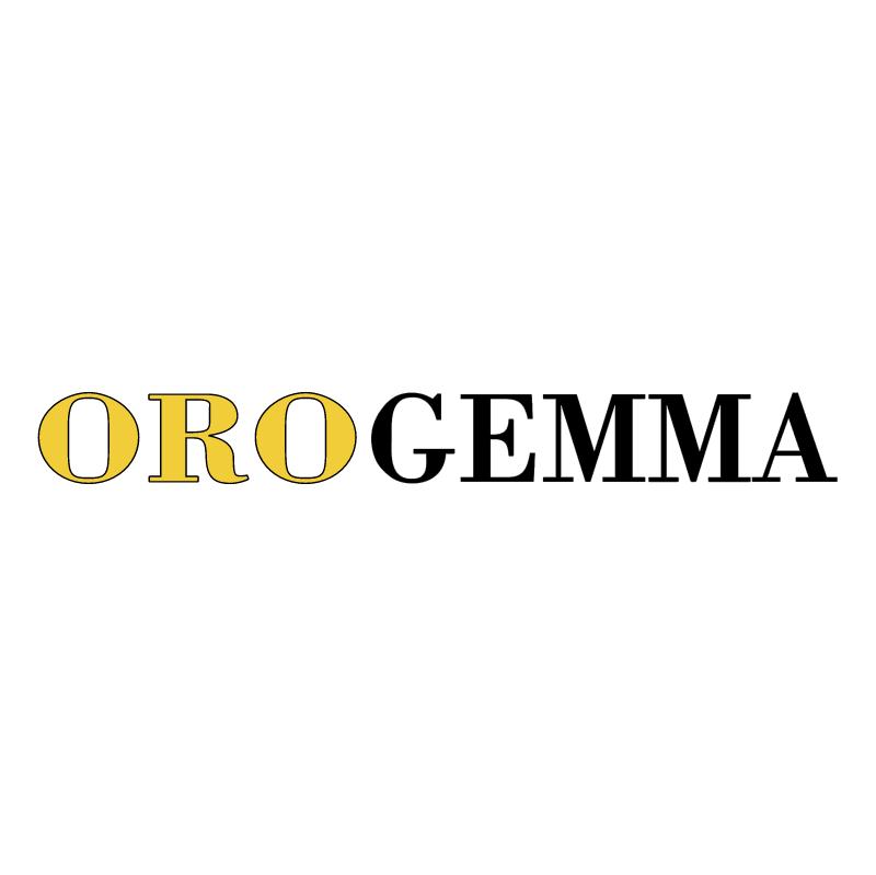 Orogemma vector logo
