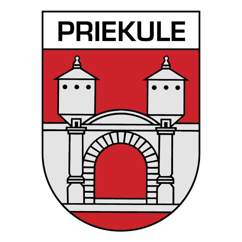 Priekule vector logo