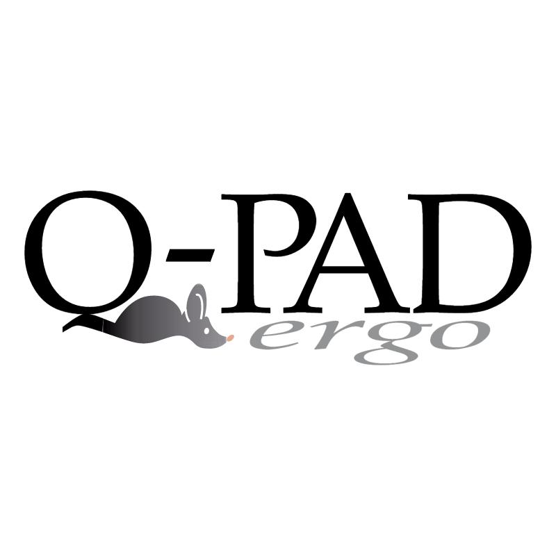 Q PAD vector logo
