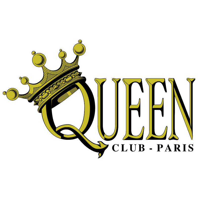Queen Club Paris vector
