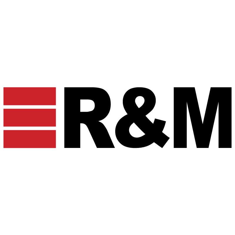 R&M vector logo