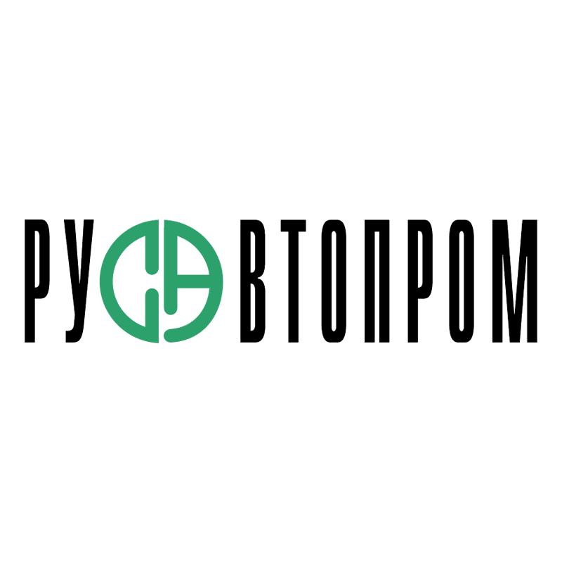 Rusautoprom vector logo