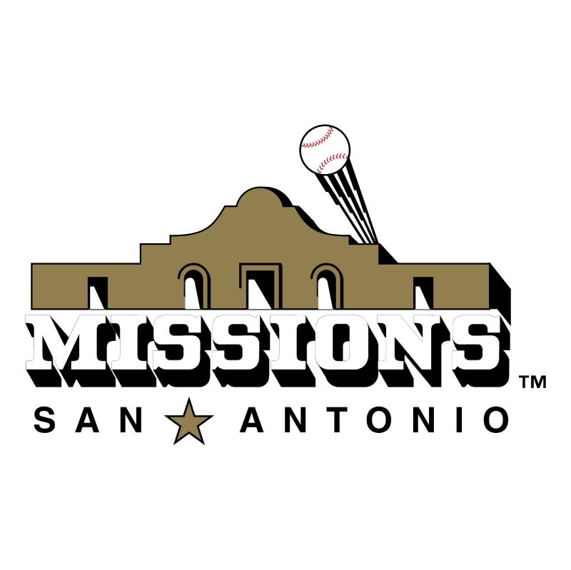 San Antonio Missions vector