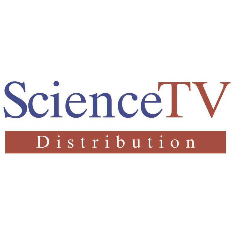 Science TV vector logo
