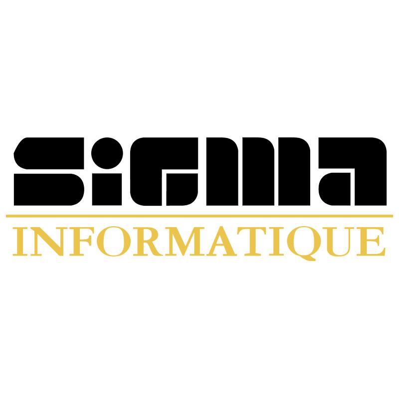Sigma Informatique vector