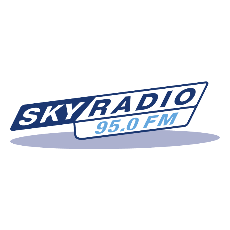 Sky Radio 95 0 FM vector