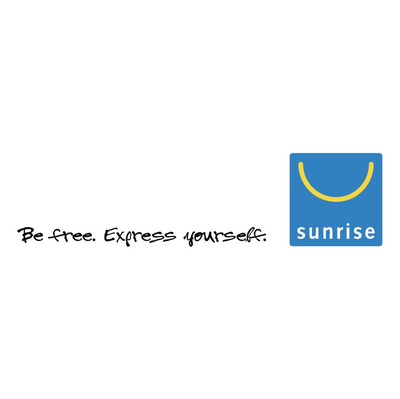Sunrise vector logo