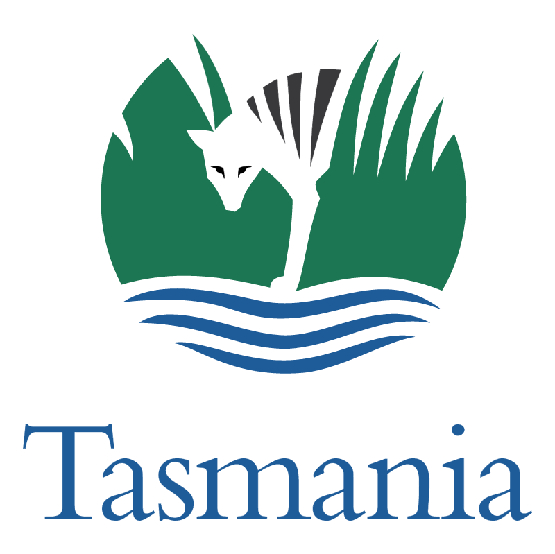 Tasmania vector logo